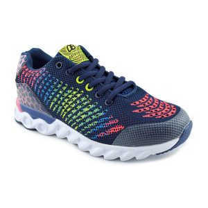 supportive trainer - blue with multi colour